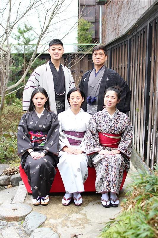 和服京都观光