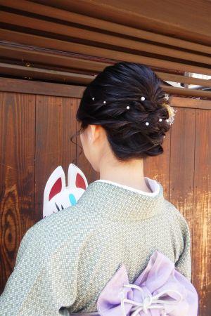 フリーチョイスヘアセット