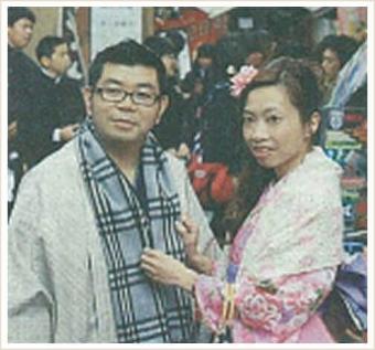 """読売新聞 外国人""""京都コスプレ"""" の取材がありました。"""