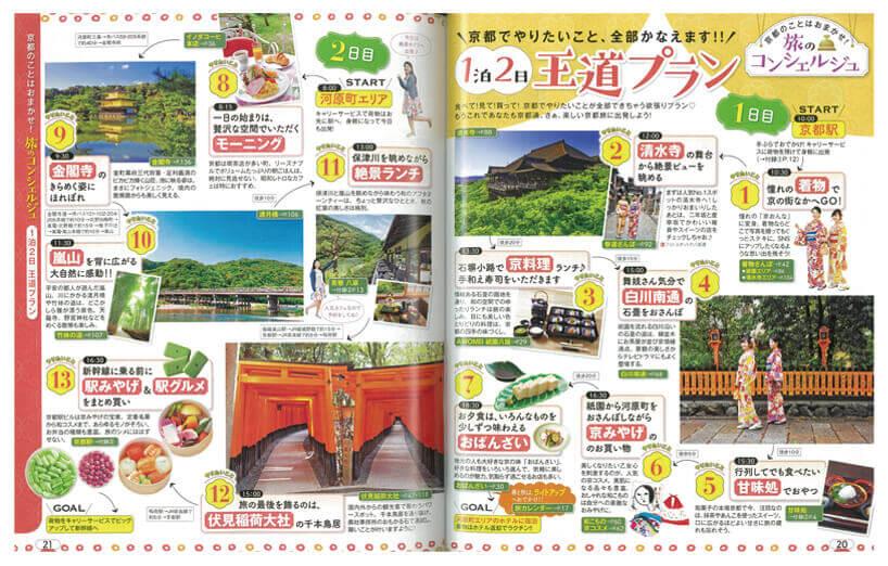 まっぷる京都'19 王道プラン
