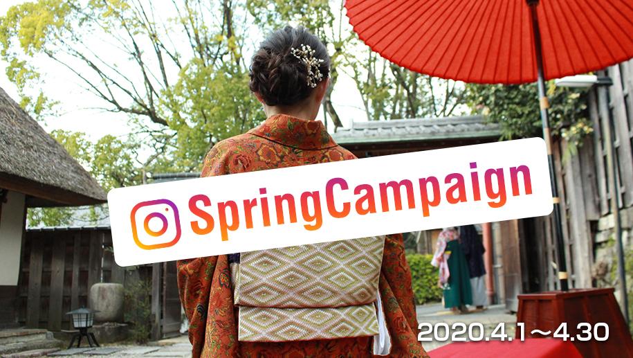 レンタル着物岡本springキャンペーン!! 2020月4月1日~30日まで!!