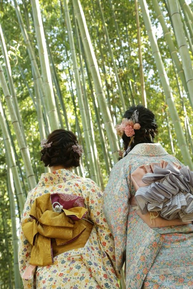 嵐山観光スポット:竹林の小径